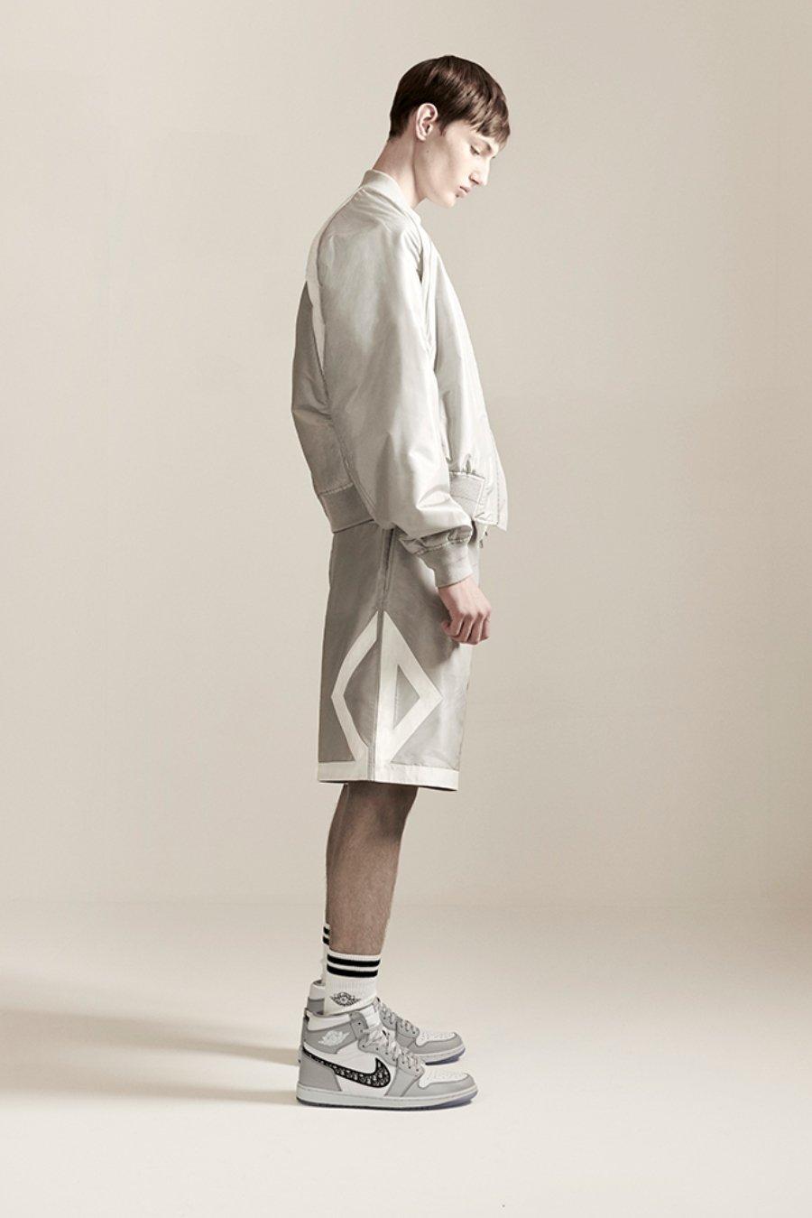 Nuevos sueteres y chalecos de la colección entre Jordan y Dior