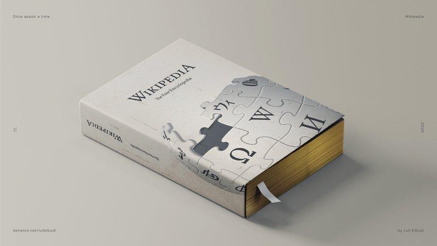 Wikipedia reinventado en enciclopedia por Luli Kibudi
