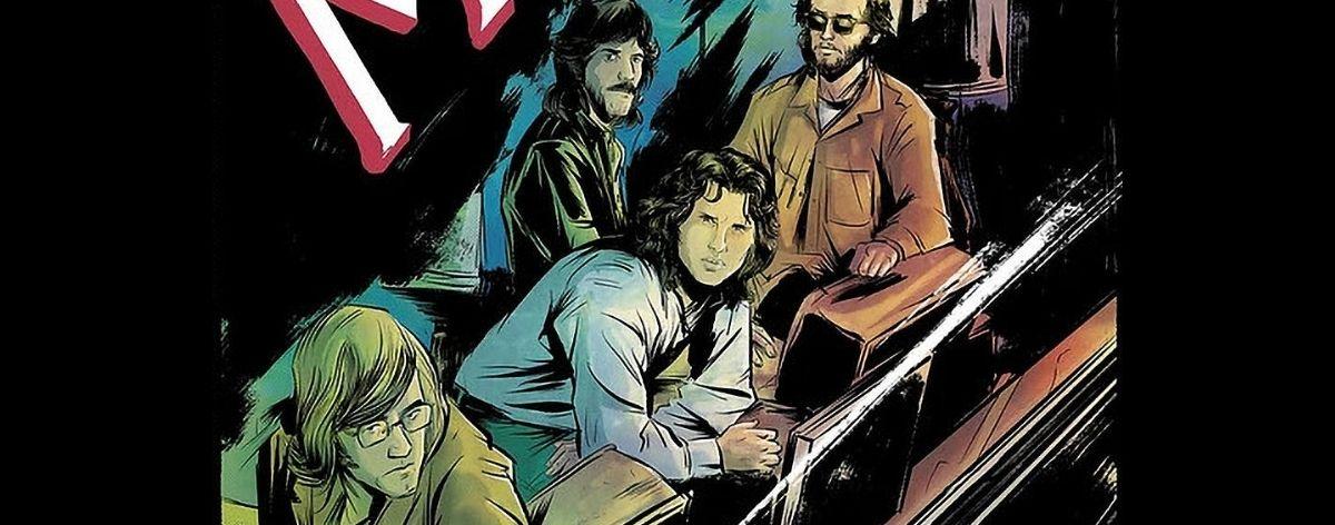 Morrison Hotel, un nuevo cómic de The Doors