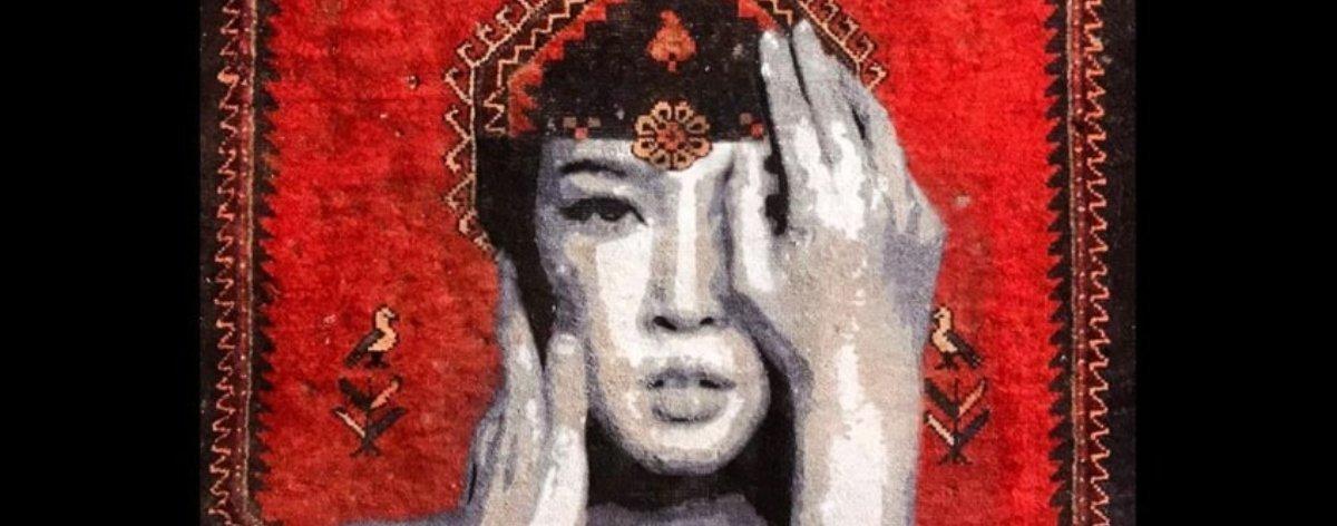Nafir y sus obras de street art con alfombras