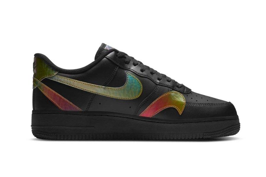 Nuevos Nike Air Force 1 Low con swoosh por todo el tenis