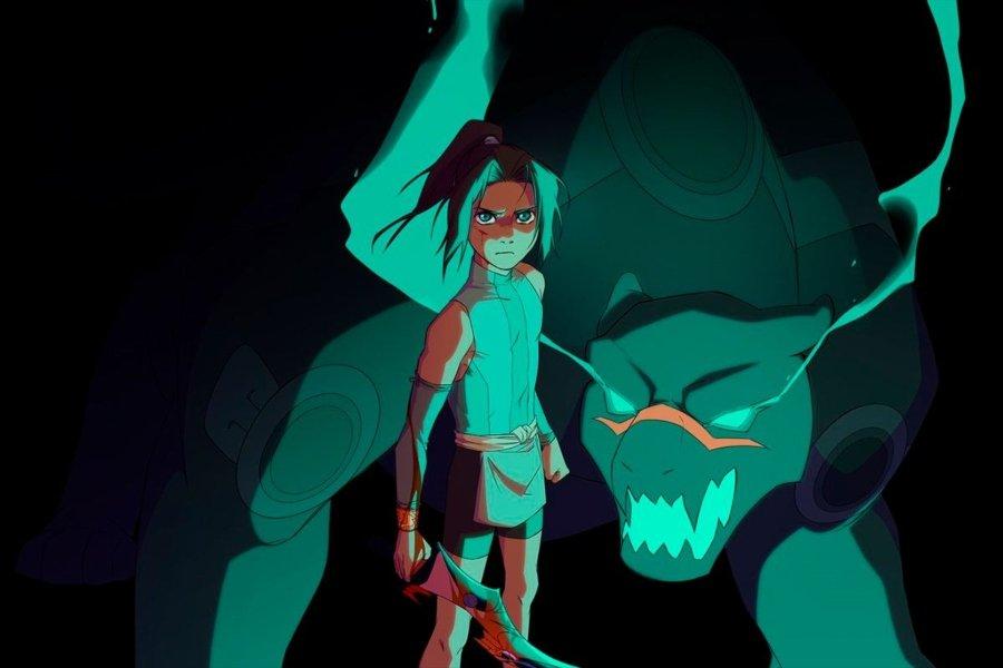 Personaje perteneciente al primer anime mexicano, Onyx Equinox