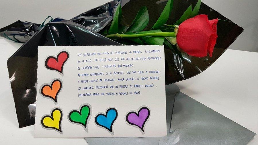 Carta de respuesta de la autora de los corazones en madrid