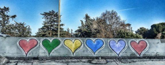 Pink Love, la primera grafitera que es detenida en Madrid