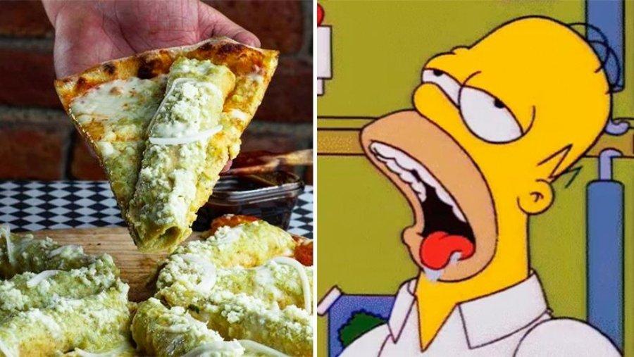 "Homero Simpson babeando por la ""picsa"""