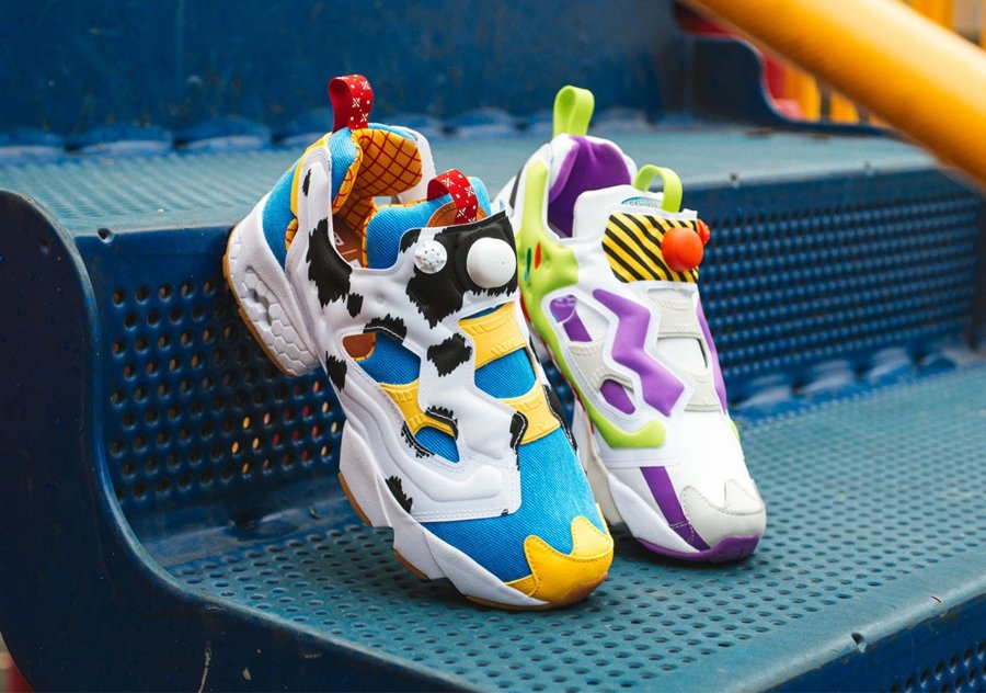 Reebok and Pixar release the Instapump Fury model