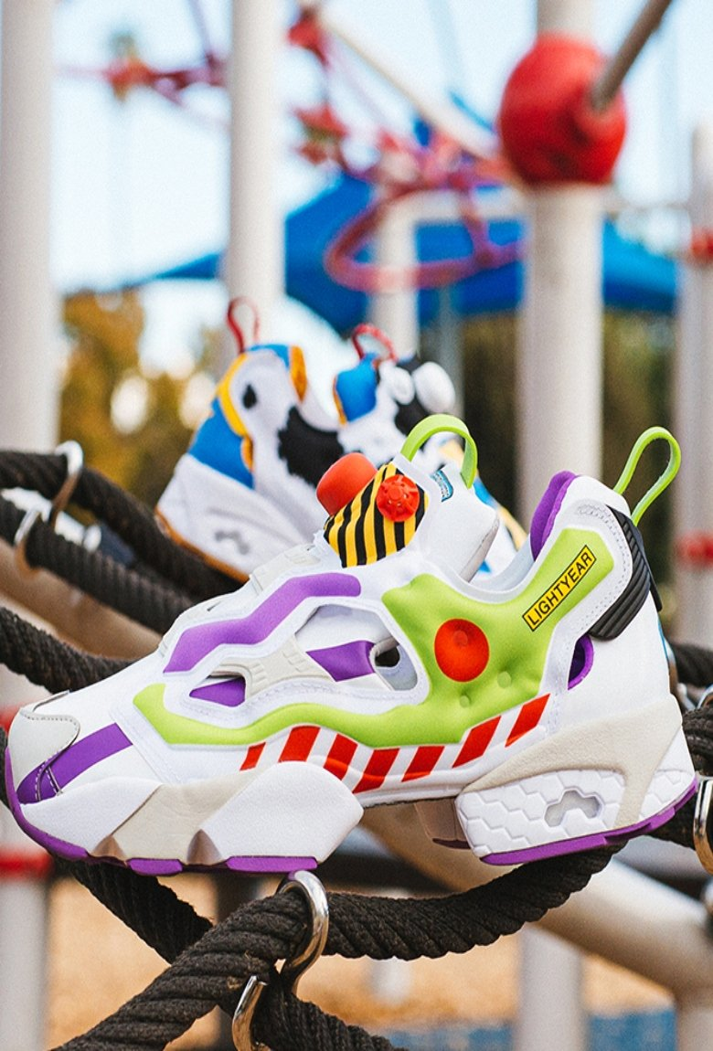 Reebok and Pixar release Toy Story-style sneakers