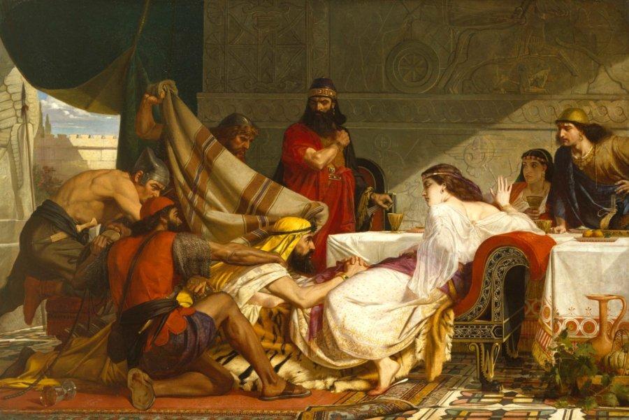 The Festival of Esther, pintura de Edward Armitage RA