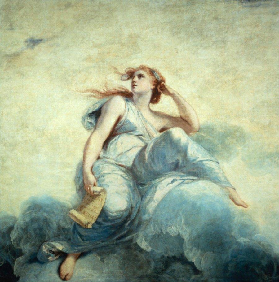 Theory, pintura de Joshua Reynolds
