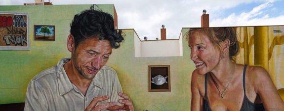 Escenografía Alimentaria, nuevo mural de Sabotaje al Montaje