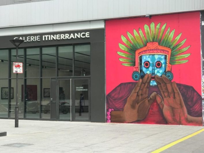 Saner has exhibited in galleries around the world