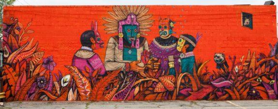 Saner, la esencia de la mexicanidad en el arte urbano