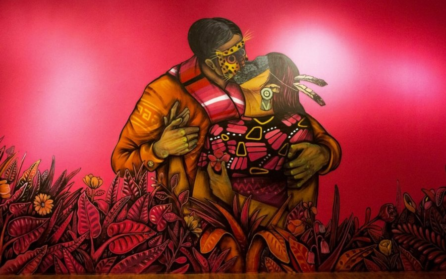 Saner's pieces evoke love