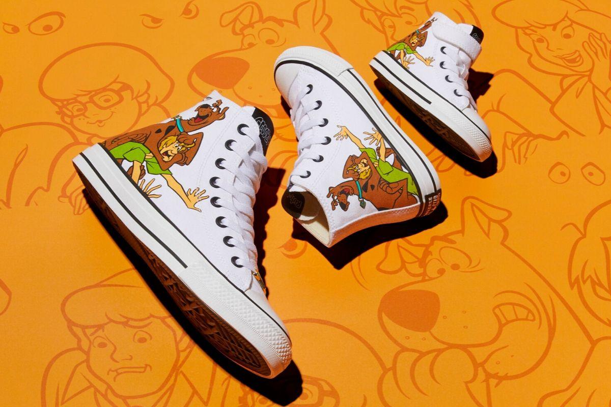 Converse de Scooby Doo para niños