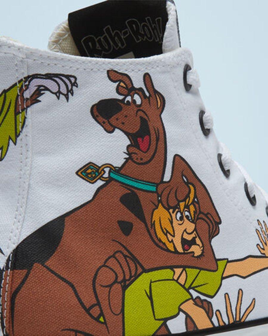 tenis de scooby, colaboración de Scooby-Doo y Converse