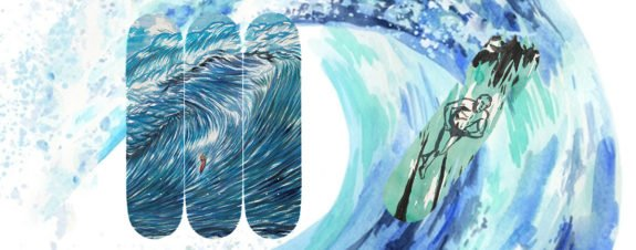 The Skateroom y Raymond Pettibon lanzan nuevas tablas