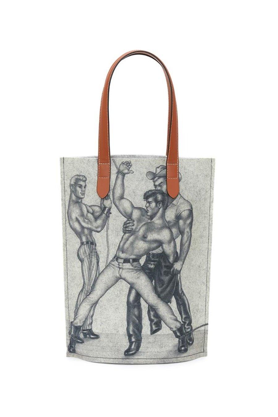 Bolsa de la colección Tom of Finland x JW Anderson