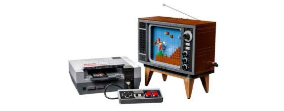 LEGO lanza su versión de la NES con todo y televisión
