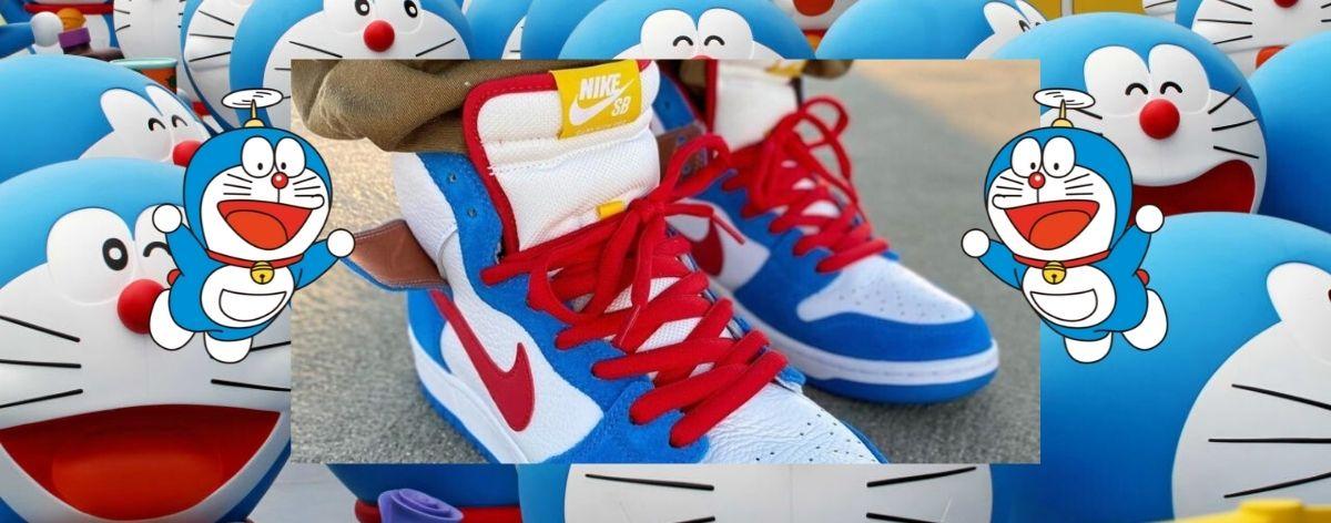 Nike y Doraemon celebran 50 aniversario del manga