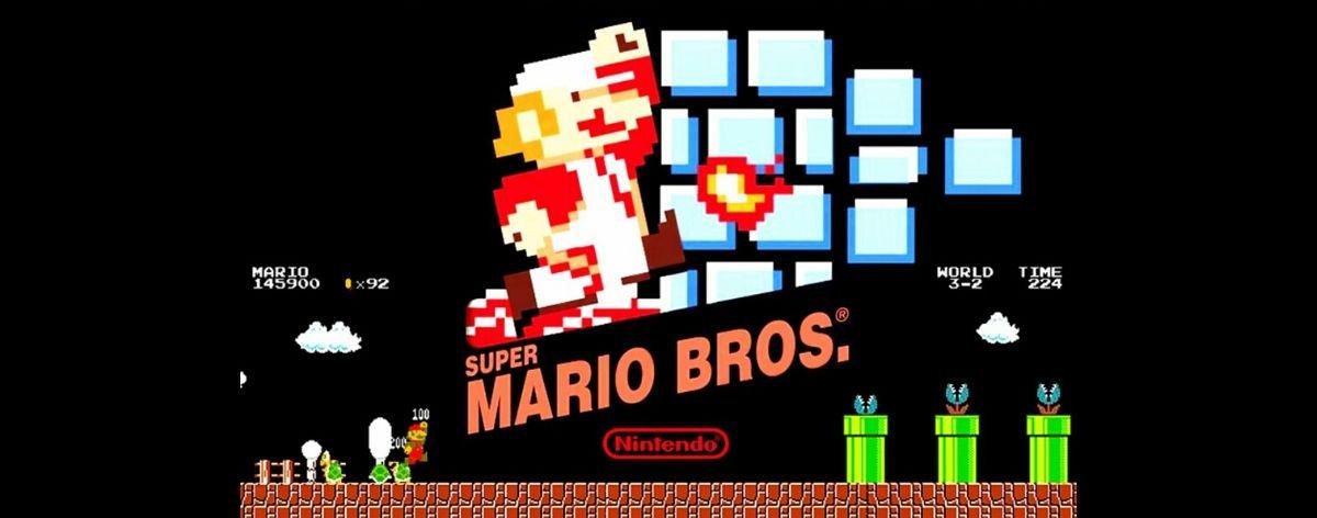 Super Mario Bros Nes All City Canvas