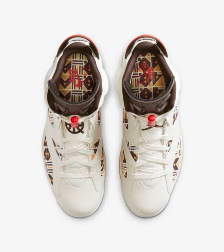 Aspeto de las nuevas Air Jordan 6 quai 54