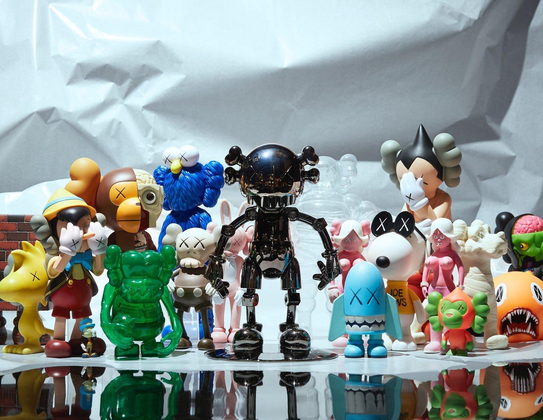 art toys de KAWS, colección de Pirovino