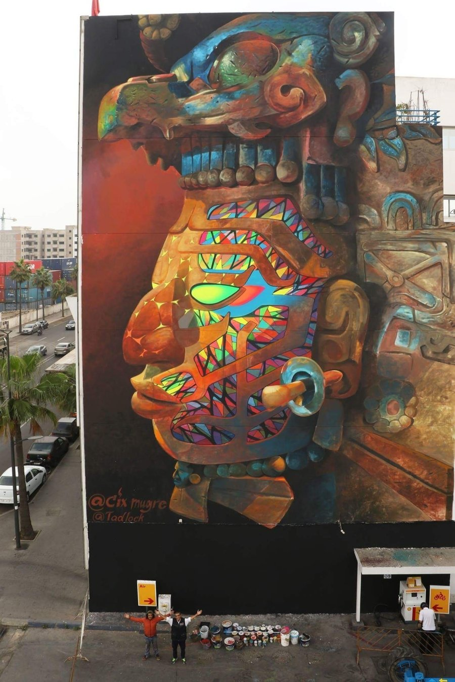 Mural por Six Mugre
