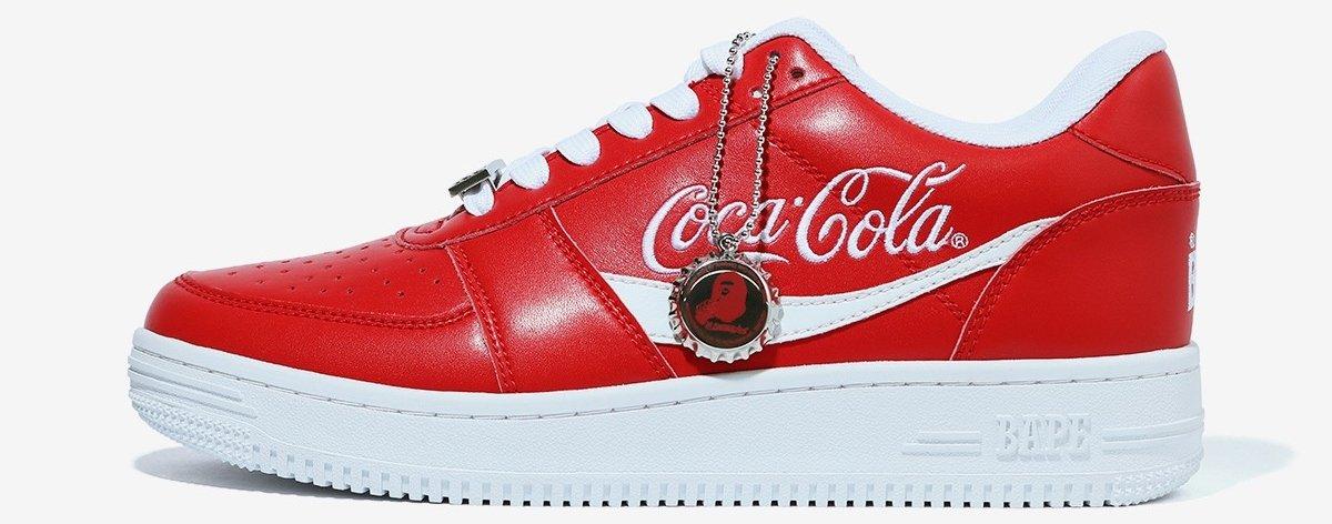 BAPE lanza colección de streetwear con Coca-Cola