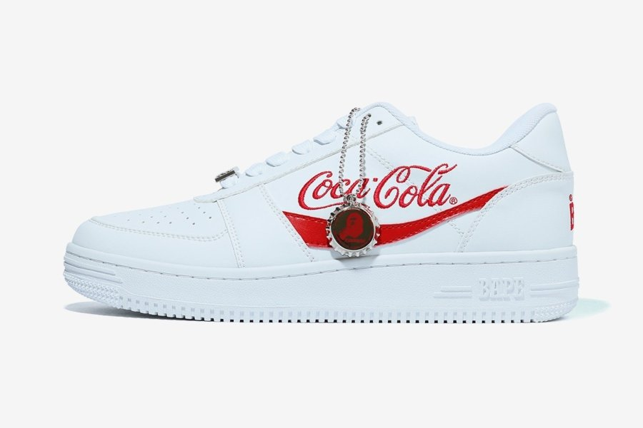 BAPE lanza colección junto a Coca-Cola