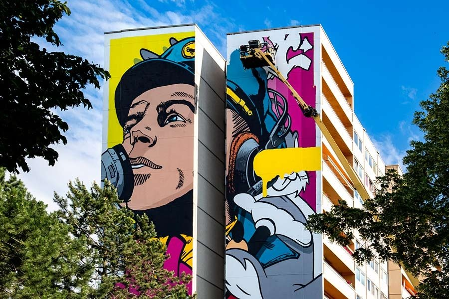 BUST Art en Tegel Berlin / One Wall Project