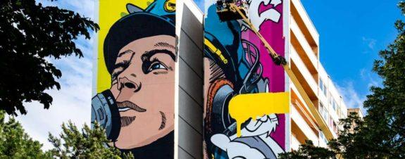 BustArt presenta nuevo mural para Urban Nation