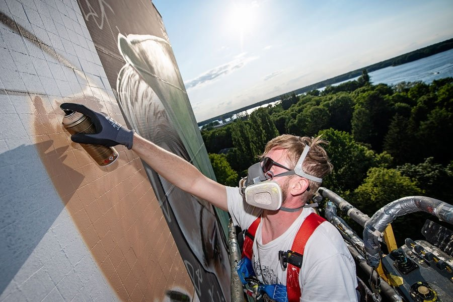 BustArt en Tegel Berlin / One Wall Project