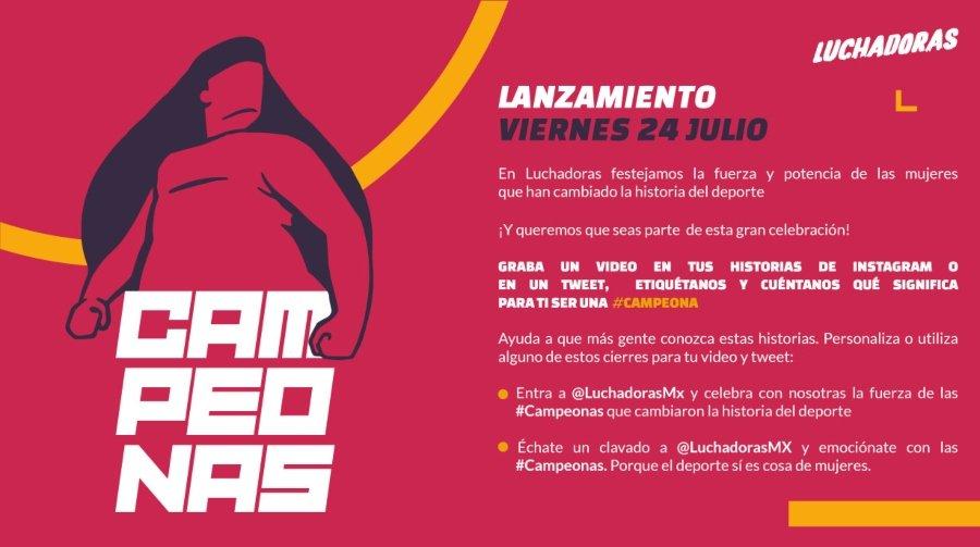 LuchadorasMX presenta CAmpeonas