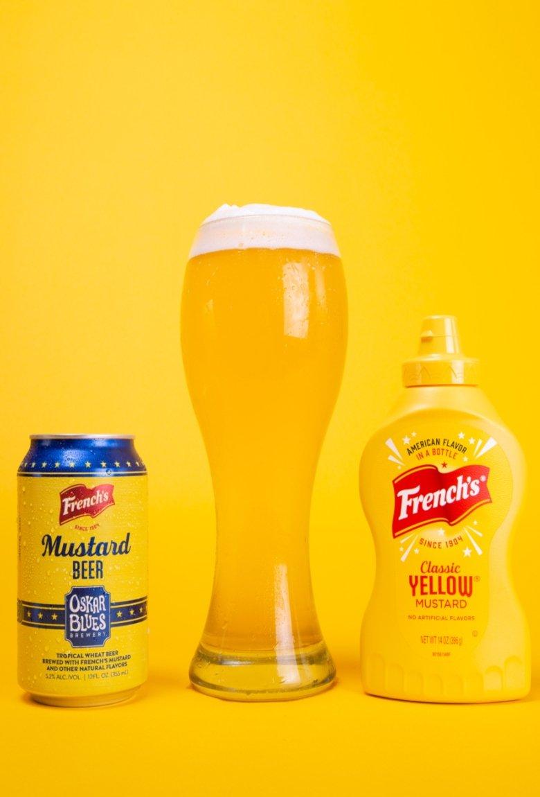 Cerveza de mostaza para los amantes de este condimento