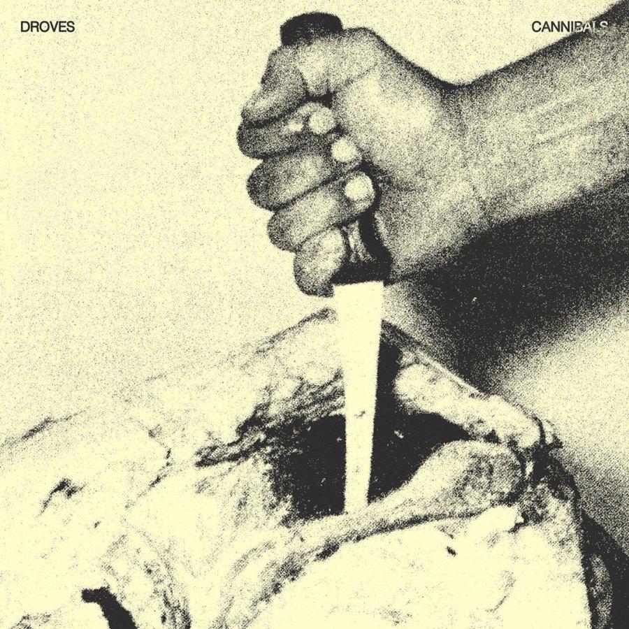 Portada del nuevo sencillo Cannibals de Droves