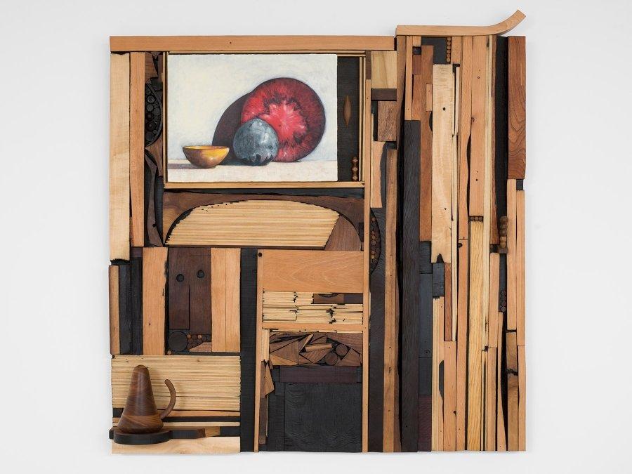 """Escultura """"Forbidden colours"""" por Edgar Orlaineta"""