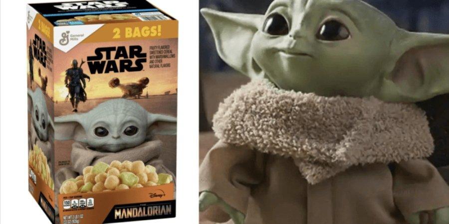 El cereal de Baby Yoda
