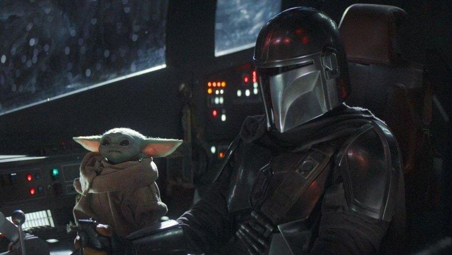 Escena de la primera temporada de The Mandalorian de Star Wars