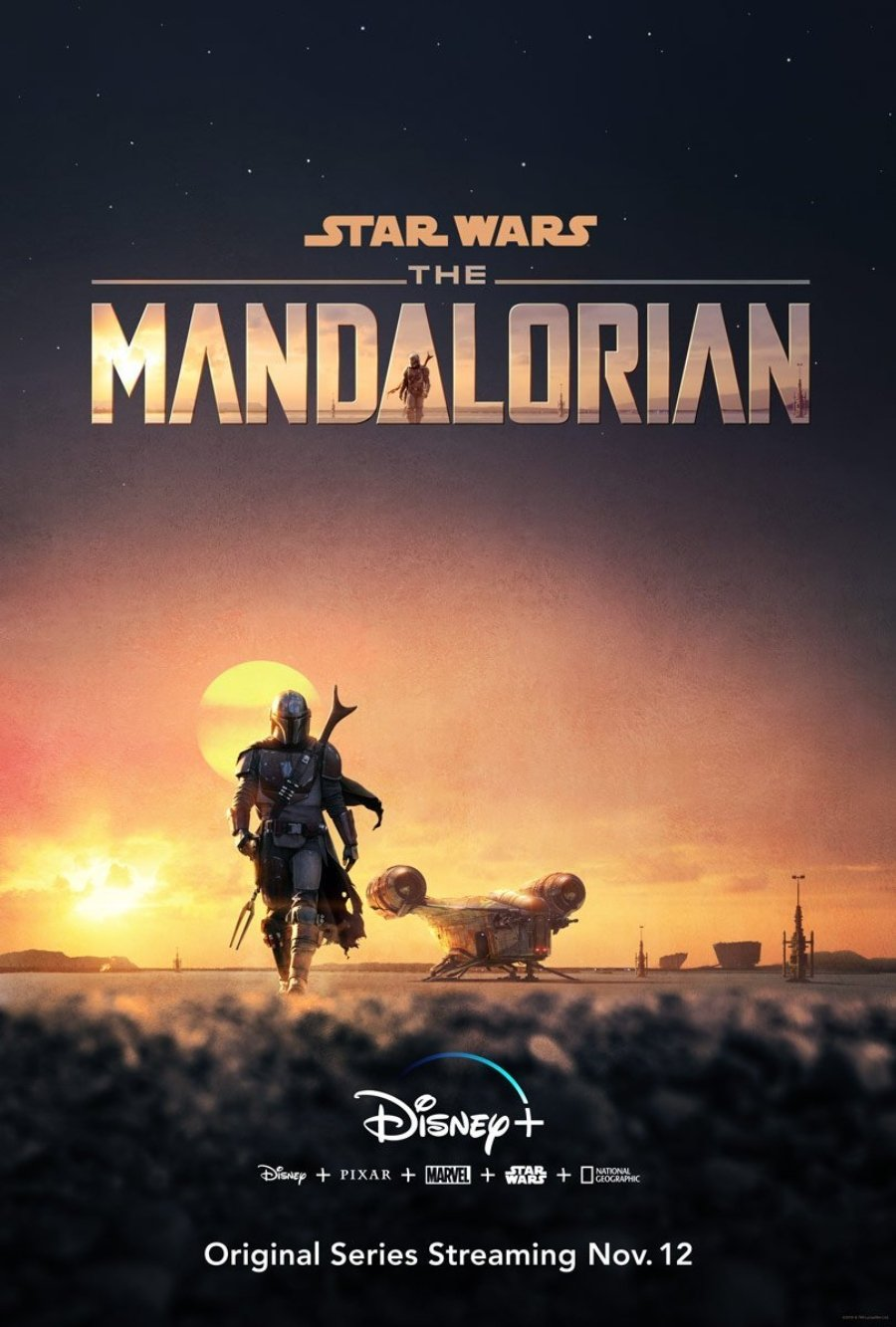 Portada oficial de The mandalorian