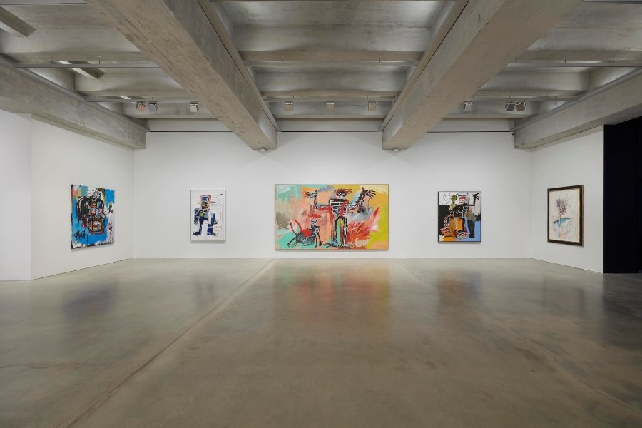 Exposición virtual de Jean-Michael-Basquiat