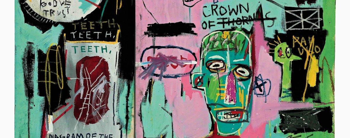 Exposición virtual con obras de Basquiat