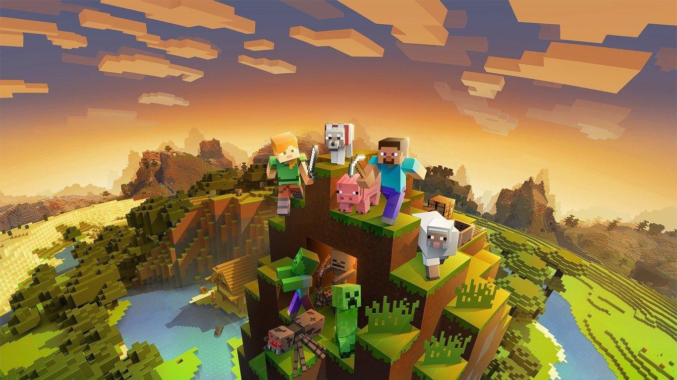 fondo de zoom de Minecraft