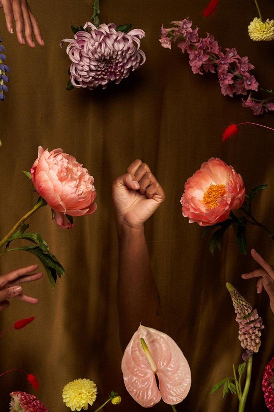 """""""El derecho a florecer"""" (2020) (8.8 """"x 11.0"""")"""