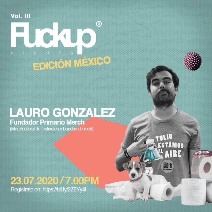 CArtel presentación de Fuck Up Nights México Vol.3