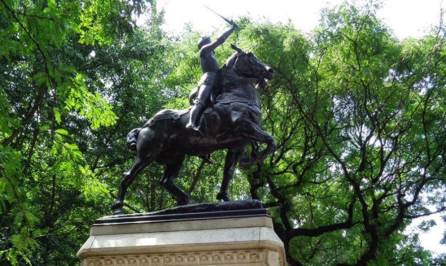 Guía completa de arte público en Nueva York/ estatuas