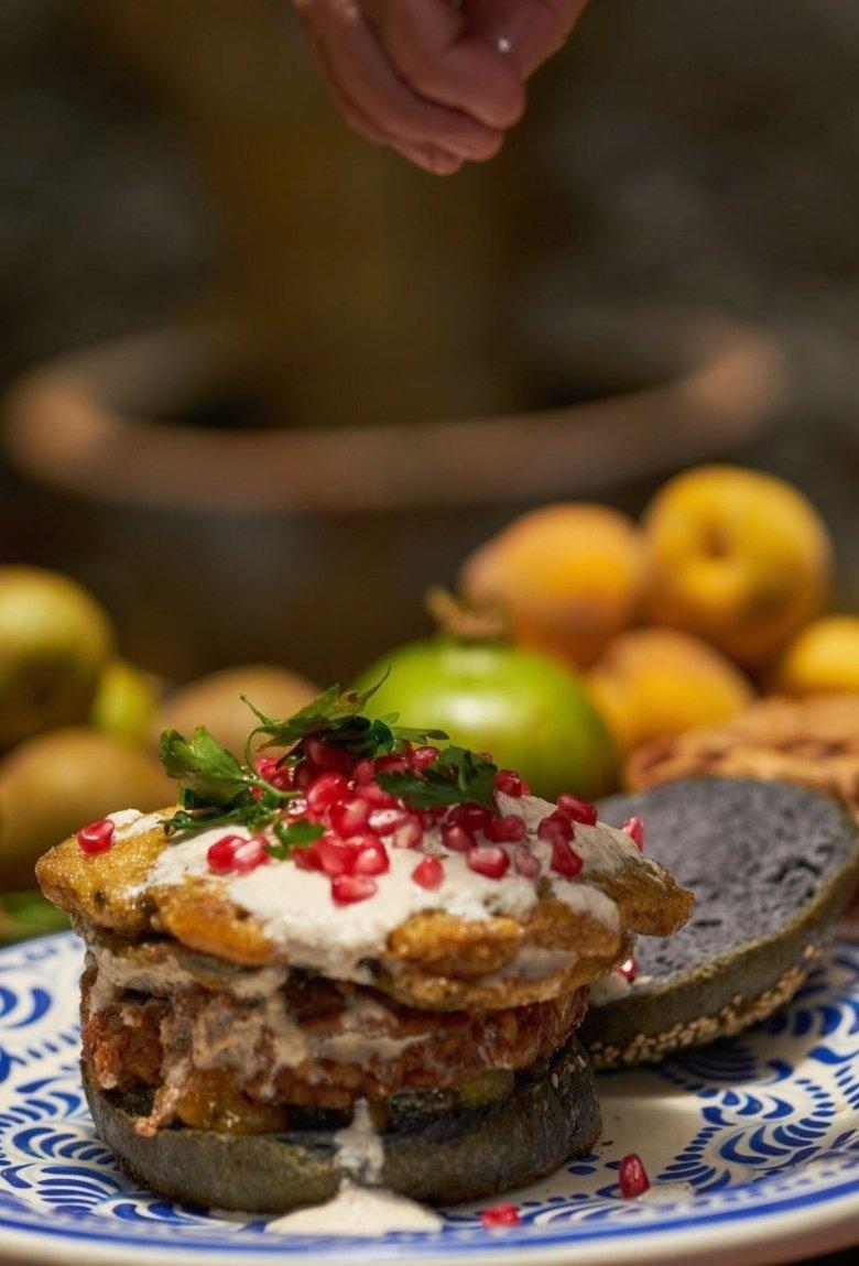 Hamburguesas de chiles en nogada directo desde Puebla