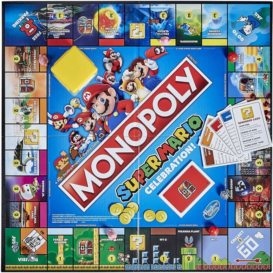 Nuevo Monopoly de Mario Bros para su 35 aniversario