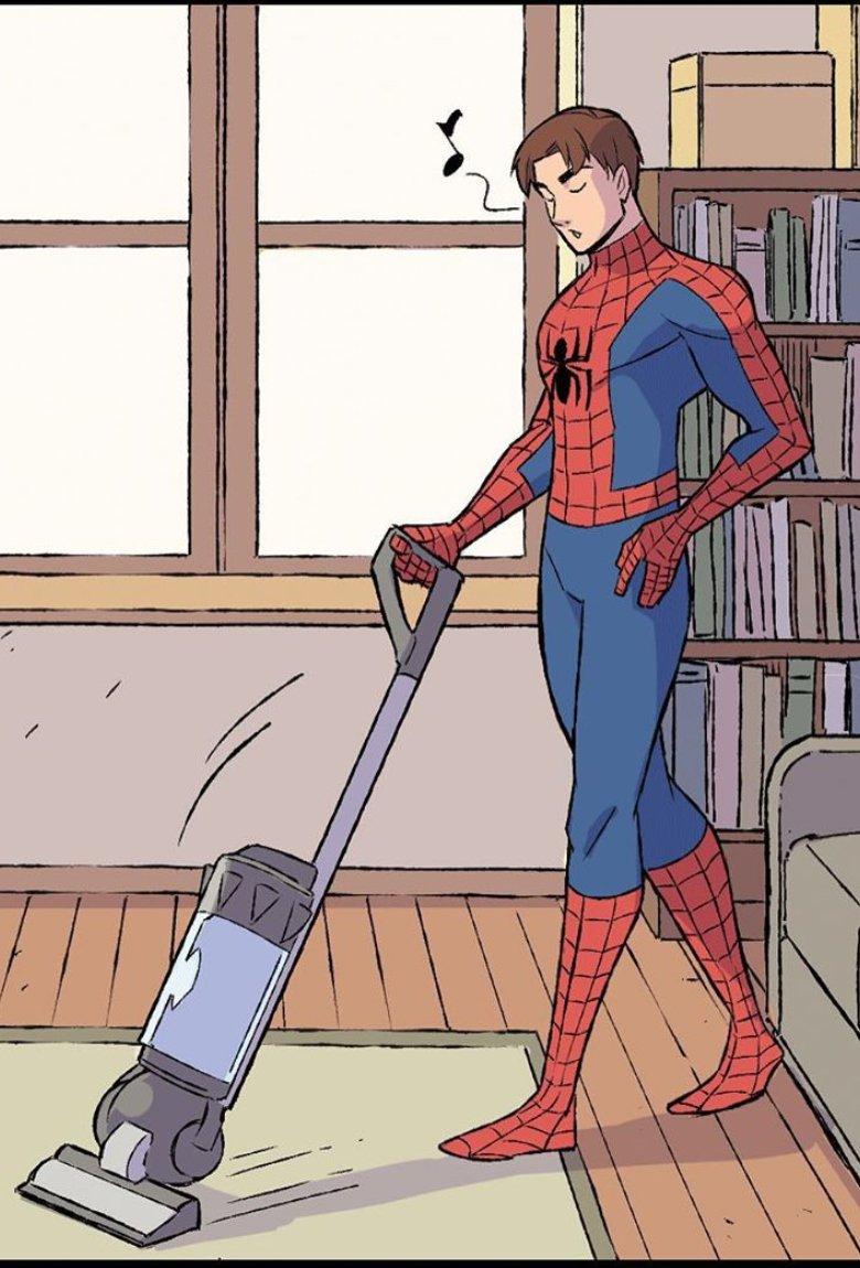 Heroes at Home, los superhéroes en cuarentena