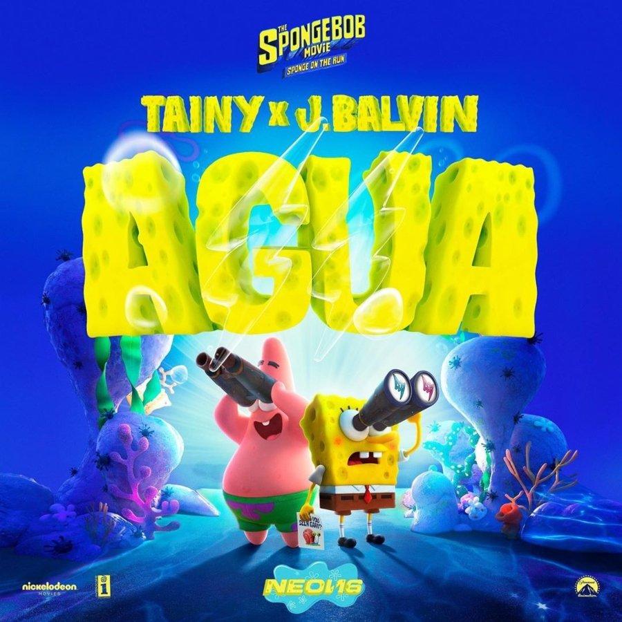 Póster de la canción colaborativa de J Balvin y Tainy