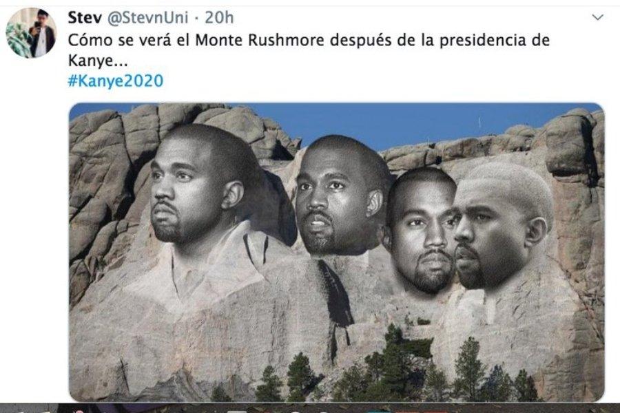 Kanye West quiere ser presidente, meme compilation